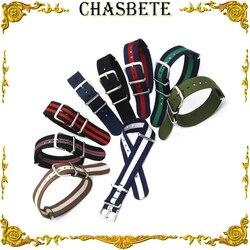 18mm 20mm Nylon Watch Band for DW Daniel Wellington Strap Wrist Loop Belt Bracelet Men Women Black Brown Grey Green Red + pin