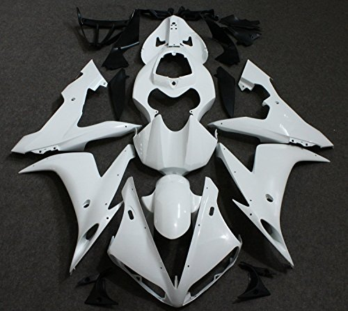 Motorcycle Unpainted Fairing Bodywork Kit For Yamaha YZF R1 YZFR1 YZF-R1 2004 2005 2006 YZF1000 04 05 06 Injection Mold wotefusi black motorcycle injection mold bodywork motorcycle fairing for 2004 2005 2006 yamaha yzf1000 r1 04 05 06 3 [ck813]