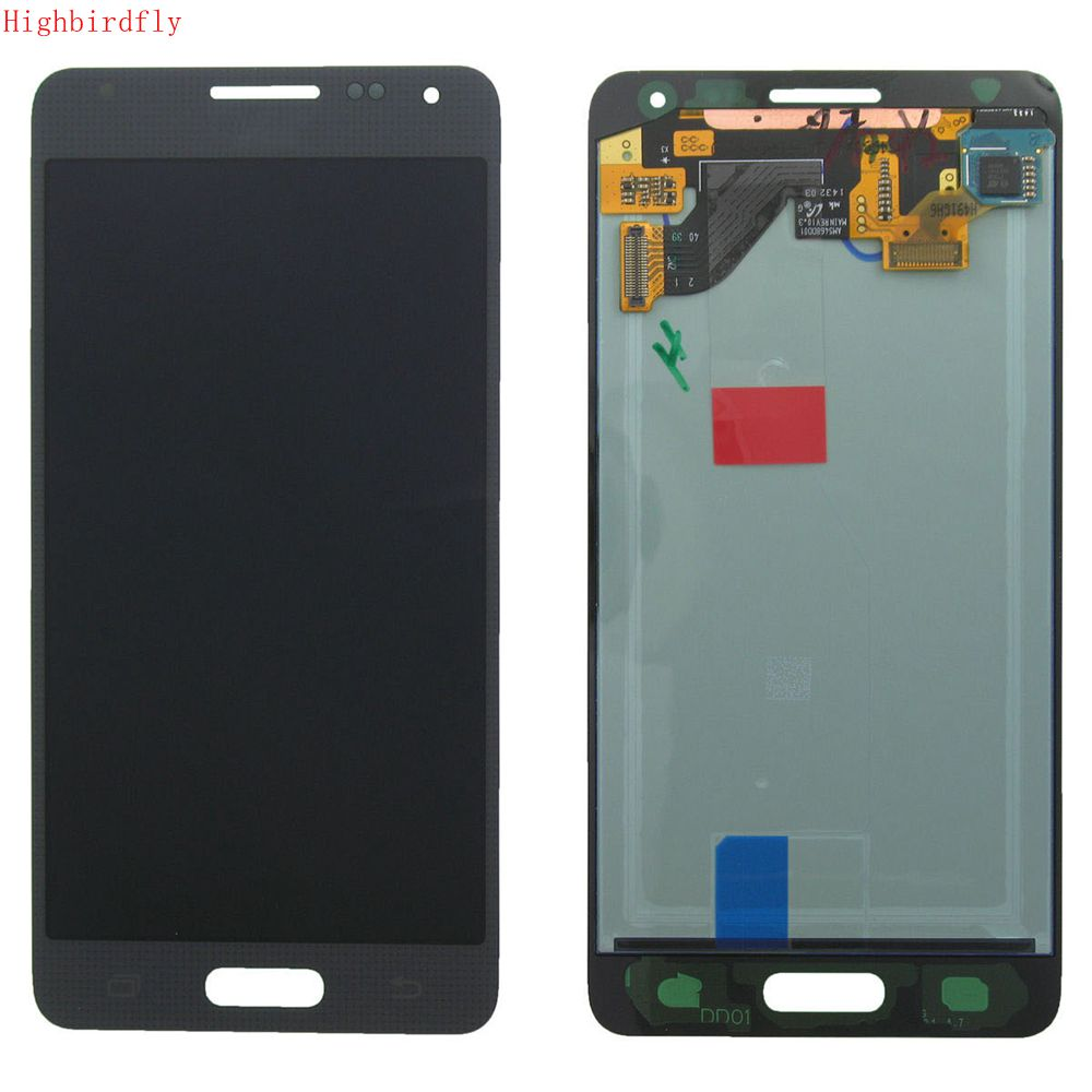 Highbirdfly For Samsung Galaxy Alpha G850 G850M G850F G850Y Lcd Screen Display+Touch Glass DIgitizer Assembly Repair Phone Lcds