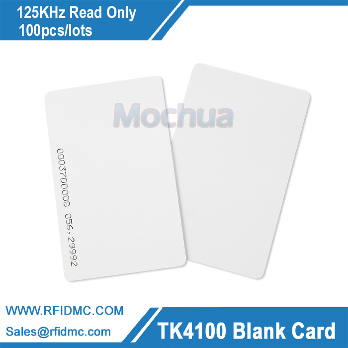 125KHz Card EM4100 Card Proximity ID Card RFID card fit for Access Control Time Attendance rfid contactless card proximity id card rfid iso pvc card time attendance for access control 125khz with tk4100 em4100 chip
