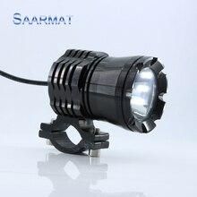 1 Шт. 30 Вт 3000lm w/CREE Чипы U3 LED Lacer Гу 12 В-60 В для Мотоцикла свет Лампы Фар Мотор Головного Света