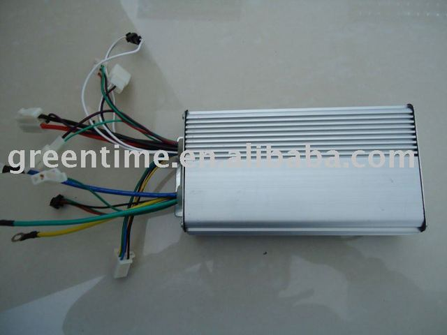 24V 500W Brushless DC Motor Controller 12 mosfets works with both sensored and sensorless brushless motor