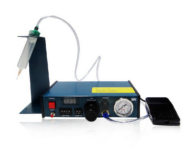 Digital timed air dispenser Auto Glue Dispenser Solder Paste Liquid Controller Dropper 983A klt 982a solder paste glue dropper liquid auto dispenser controller black