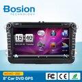 """Bosion Новый! 8 """" 2din автомобильный DVD для VW Golf 5 гольф 6 поло PASSAT CC JETTA TIGUAN TOURAN EOS SHARAN SCIROCCO транспортер T5 кэдди с GPS"""