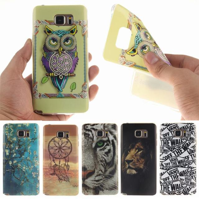 For coque Samsung Galaxy Note 5 Case Silicone Cute note5 Phone Cases for Samsung Galaxy Note 5 N9200 N9208 SM-N9208 Cover Case