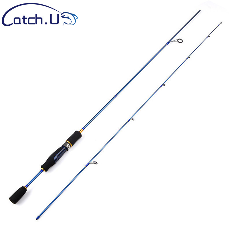Günstige UL Spinning Rod 1,5-5g Locken Gewicht 3-7lb Linie Ultraleicht Carbon Locken Angelrute