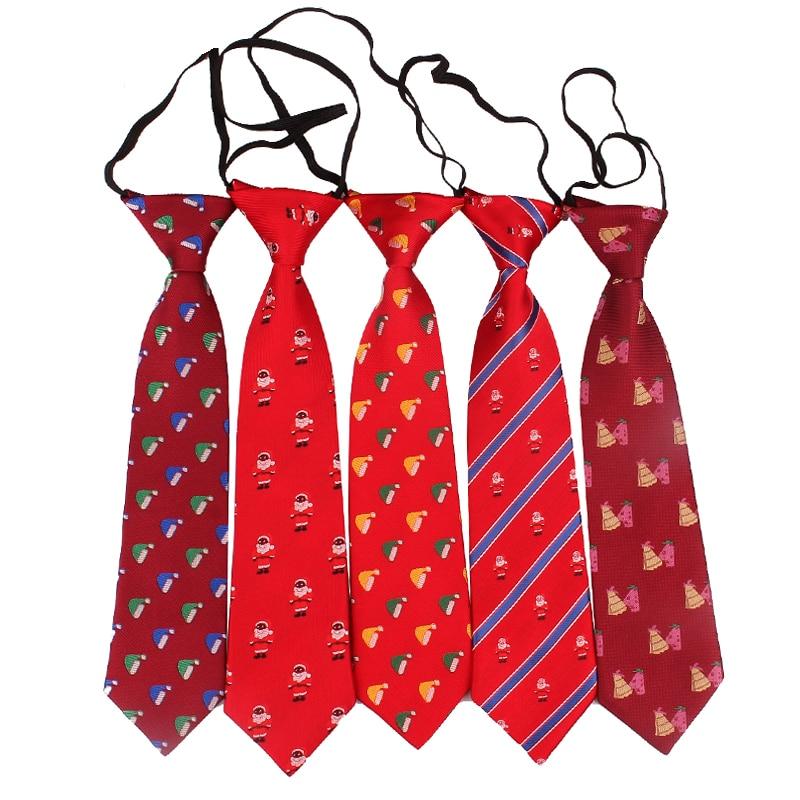 Fashion Cartoon Children Neck Tie For Christmas Jacquard Boys Ties Slim Gravatas Necktie For Gifts Casual Novelty Tie Neckties