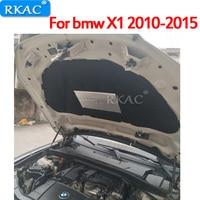 RKAC 1 PCS for bmw X1 2010 2015 car bonnet Sound & Heat Insulation Cotton pad mat ire resistant cover trim accessories
