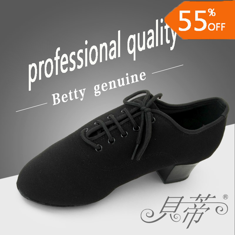 [Disc 49%] DANCE SHOES US EUR BIG SIZE Ballroom latin dance shoes men Factory wholesale custom Modern Jazz shoes Oxford cloth Durable soft