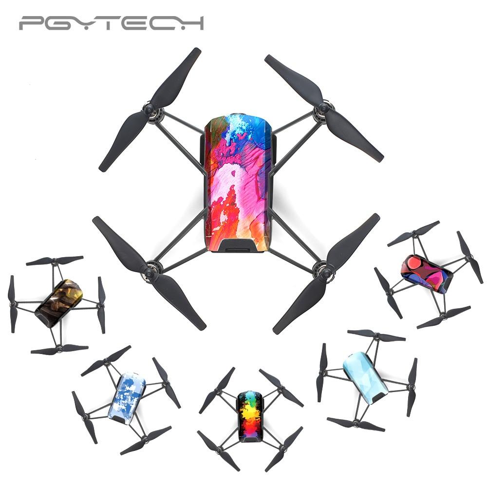 PGYTECH TELLO Waterproof Drone Skin Sticker Protective Skin Cover Sticker Body Sticker For RYZE Drone Accessories