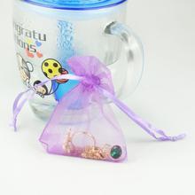 10pcs/lot 6 Colors Jewelry Bag Wedding Gift Drawable Organza bag Christmas Bags Packaging bags