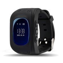 Mejores Ofertas Q50 Reloj Inteligente GPS Smartwatch Teléfono Anti Perdida Llamada SOS Niños Padres Buscador Rastreador De Fitness Reloj de Pulsera