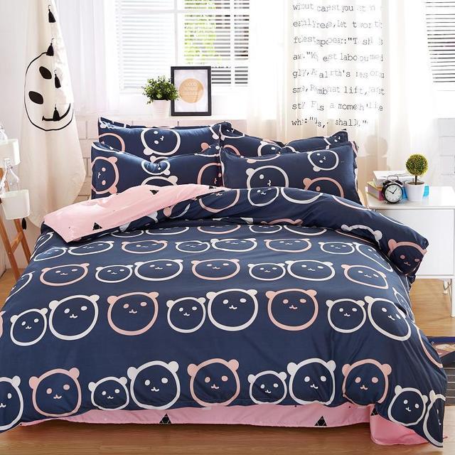 Colorful Patterned Bedding Set