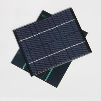 BUHESHUI 24PCS/Lot 2W 12V Solar Cell Polycrystalline Epoxy Solar Panel Solar Module DIY Solar Charger 136*110MM Free Shipping