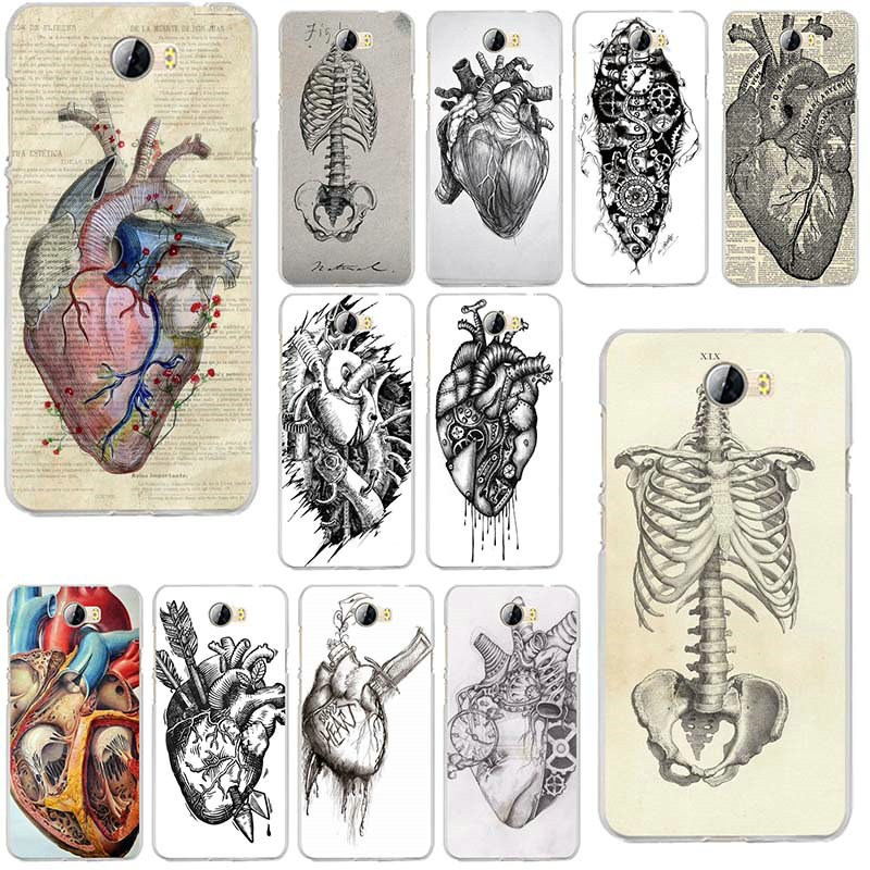 Medical Anatomical Heart Diagram For Huawei P8 P9 P10 P20