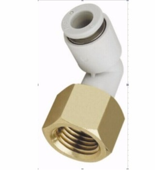 tube 10mm-3/8 PT thread pneumatic elbow fitting