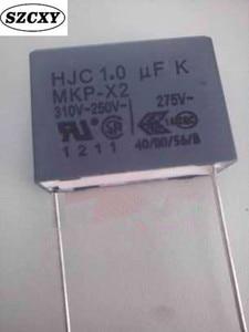 1PCS Home furnishings HJC 1.0 UF K MKP X2 310V-250V 275V 105 Feet from 22MM Safety capacitance(China)