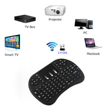 2.4GHz Wireless keyboard Multi-functional English Wireless Mini Keyboard Touchpad Fly Air Mouse For Set-Top Box Smart TV