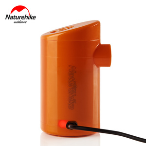 Image 5 - Naturehike Elektrische Aufblasbare Pumpe Für Outdoor Air Matte Camping Feuchtigkeit beweis Matratze Reise Kissen Mini Tragbare Aufblasbare