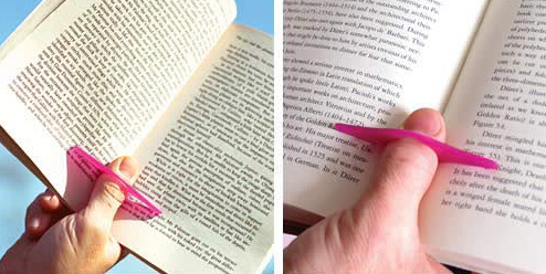 Thumb bookmark , thumb thing book holder , thumb book clip , easy for reading at anytime any place!