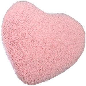 Mode coeur tapis coeur tapis tapis paillasson coussin lavage à l'eau