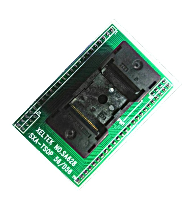 FIBREGLASS QFN-24 RE965-04 By ROTH ELEKTRONIK Best Price Square IC ADAPTOR