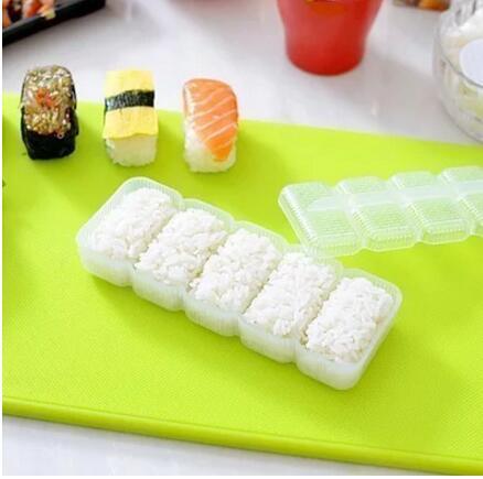 5 Grid Sushi Box Handmade Kimbap Rice Diy Tools Japanese Cuisine Rice Mold Yet Not Vulgar