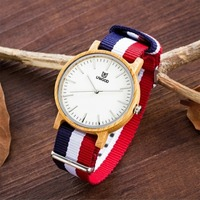 Fashion Casual Watch Wood Wristwatch Bamboo Wooden Watch for men and women Bracelet Bangle Quartz Watches Lover's Creative gifts