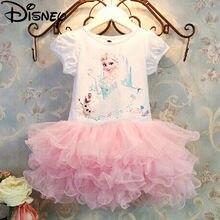 Disney frozen vestido meninas crianças roupas anna elsa menina bebê traje crianças princesa vestidos infantis crianças festa de aniversário vestido