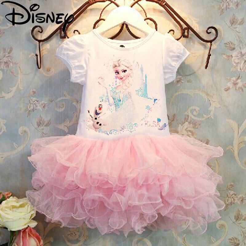 Disney Frozen dress Girls Children Clothes Anna Elsa Girl Baby ...