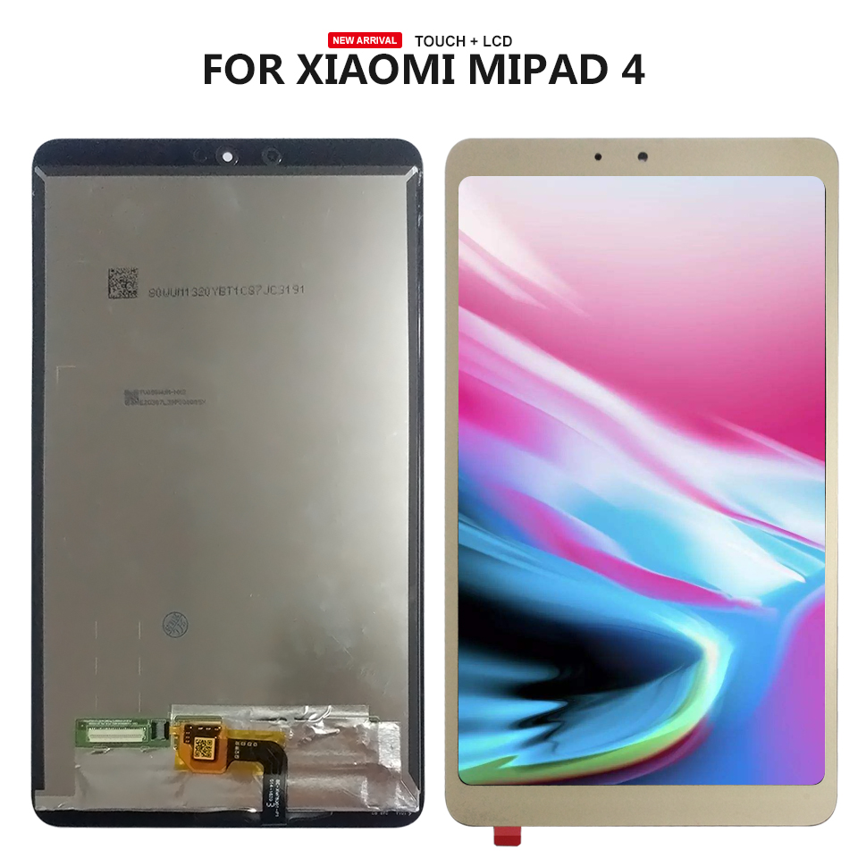 For Xiaomi Mi Pad 4 Mipad 4 LCD screen Display+Touch panel Digitizer Replacement For xiaomi mi pad 4 LCD for 4 2 nl4864hc13 01a lcd display screen panel touch