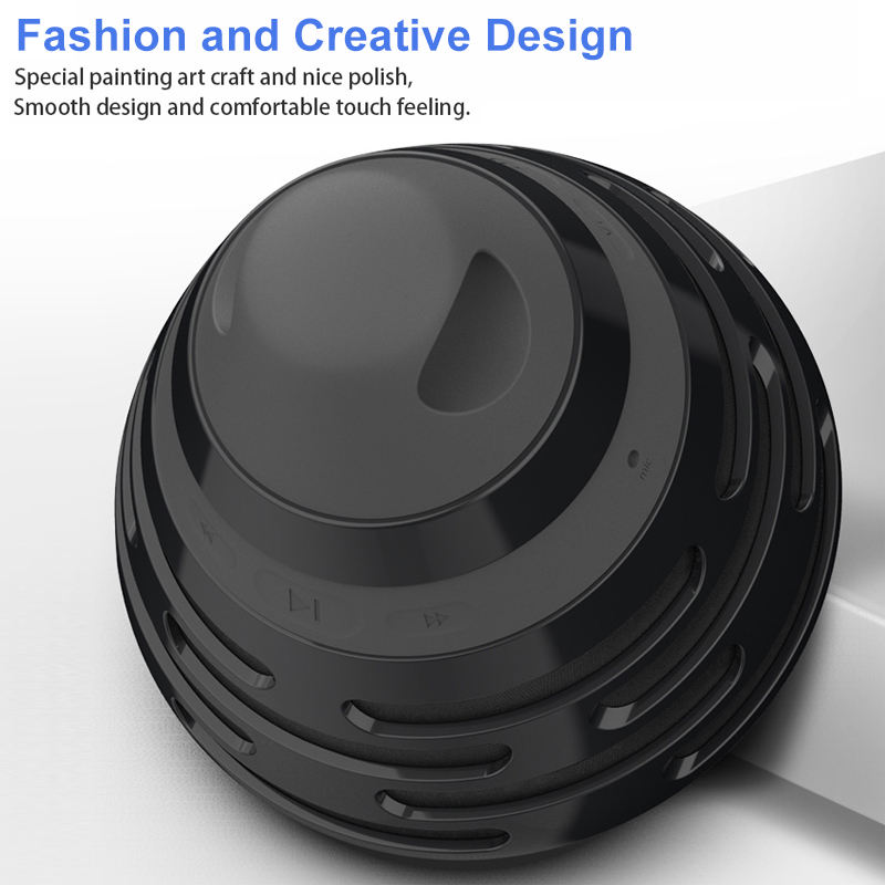 Bs 06 Fashion Bluetooth 5 0 Speaker Dsp Noise Loud Stereo Sound Rich Bass Outdoor Party Wireless Speaker With Mic Calling in Portable Speakers from Consumer Electronics