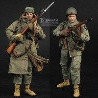 12 дюймов SS069 Второй мировой войны U. S. Army стрелковой дивизии 1/6 модель Корейской войны Набор солдатиков Фигурки Игрушка
