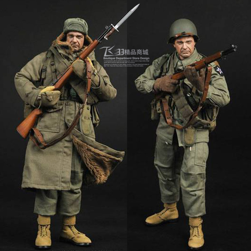 12inch SS069 World War II The U.S.Army Infantry Division 1/6 Model Korean War Soldier Set Figures Action Toy world war 1