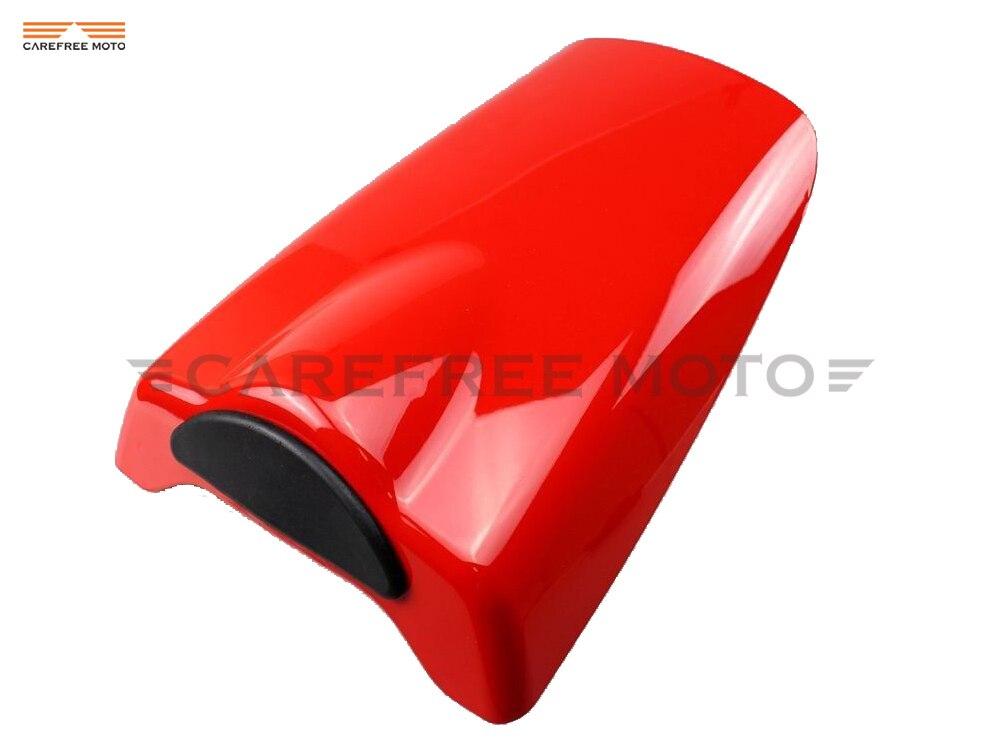 Coque de carénage de capot de couverture de siège arrière de motos rouges pour Honda CBR954RR CBR 954RR 2002 2003