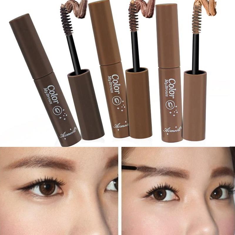 Valentines Day Makeup Brown Eyebrow Gel For Women Waterproof