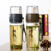 Free Shipping Bootle Water Bottle High Quality Tea Cups Clear Bottle Korea Style Plastic Water Cup
