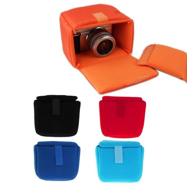 Neueste Stoßfest Kamera Objektiv Fall Pouch Insert Kissen Partition Gepolsterte Tasche Für DSLR