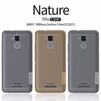 Asus Zenfone 3 Max ZC520TL Case NILLKIN Nature Clear TPU Transparent Soft Back Cover Case For