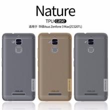 Asus Zenfone 3 Max ZC520TL case NILLKIN Nature clear TPU Transparent soft back cover case for Asus Zenfone 3 Max ZC520TL