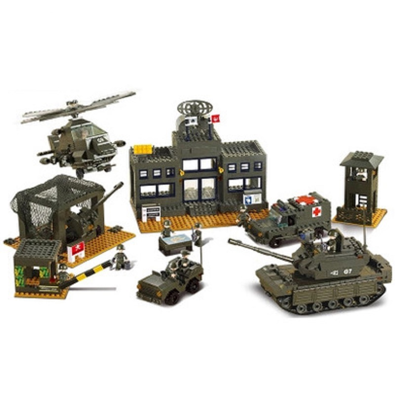 Army Forces Army Headquarter Cool Intelligence Building Blocks Compatible Legoings Developmental Toy For Kid Birthday Gift цена