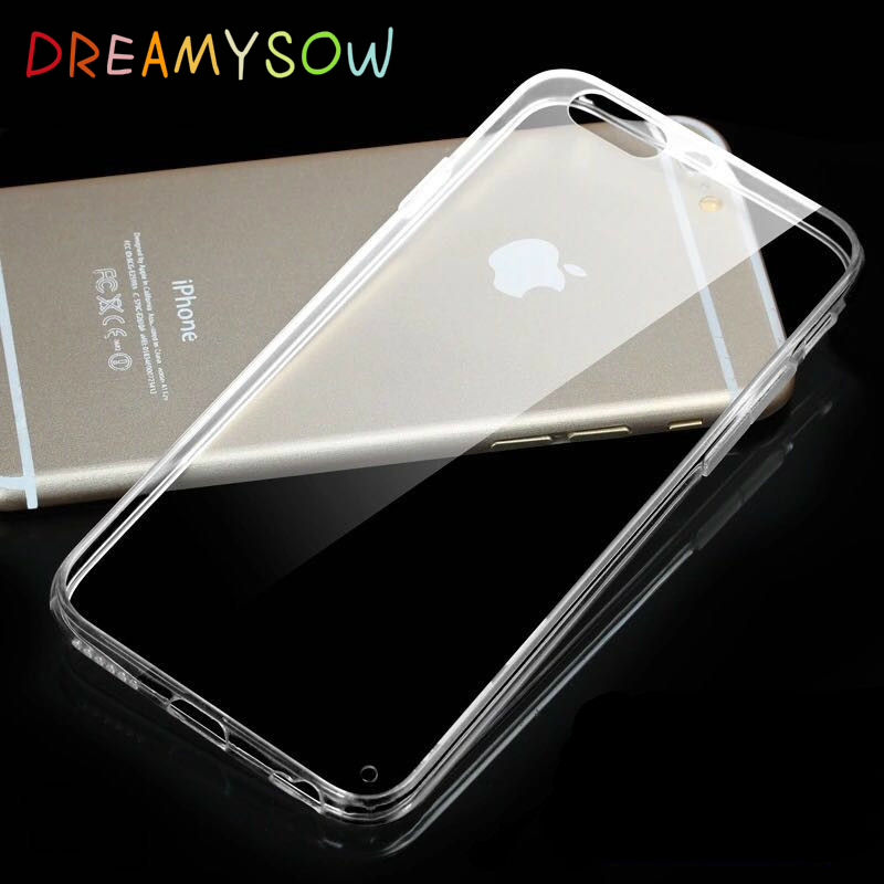 Anti-knock Cases 0.25mm Soft TPU Cases For iPhone 7 Clear Crystal TPU Silicone Case For  ...
