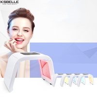 Skin Lamp Light Therapy Treatment LED Skincare 4 Colors Light