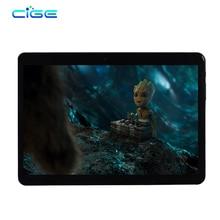 Cige T805D Планшеты PC 10.1 дюймов 1280×800 IPS HD Восьмиядерный 64 ГБ Встроенная память 4 ГБ Оперативная память Android 6.0 Планшеты Dual SIM Телефонный звонок 3 г 4 г LTE