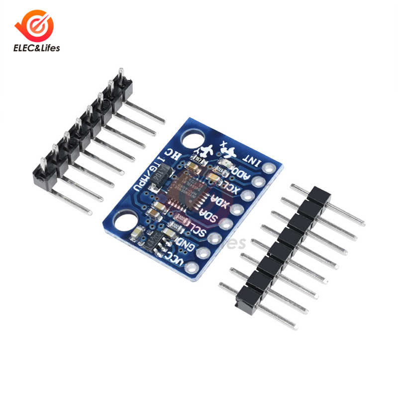 1Set IIC I2C GY-521 MPU-6050 MPU6050 3 Axis Analog Gyroscope Sensor Accelerometer Module board DC 3-5V For Arduino DIY Kit