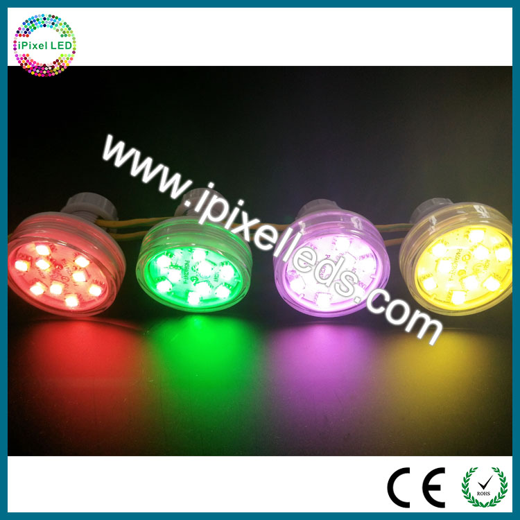 Hot 26mm 3leds 5050 Smd Rgb Adressable Led Pixel Ws2811 12v Led Module Light Amusement Rides Channel Letters Chrismas Decoration To Be Highly Praised And Appreciated By The Consuming Public Lights & Lighting Led Lighting
