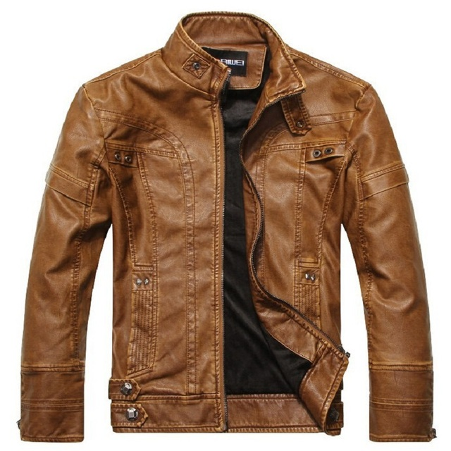 5fa25cf1332 New Brands Motorcycle Leather Jacket Men 2018 Winter Windbreaker Coats Men  Jaqueta De Couro Masculina Male Pu Leather Jackets