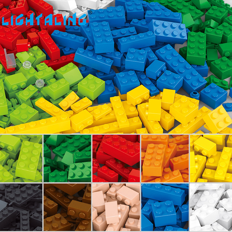 Lightaling Building Blocks 415pcs DIY Creative Bricks Model Compatible with  Toys for Children Enlighten Toys decool 3117 city creator 3 in 1 vacation getaways model building blocks enlighten diy figure toys for children compatible legoe