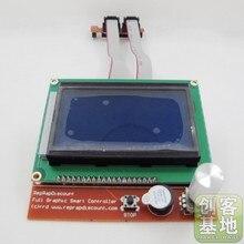 3D imprimante reprap Ramps1.4 contrôleur smart Reprap LCD 12864 affichage pour carte mère haute qualité une excellente durabilité/stabilité