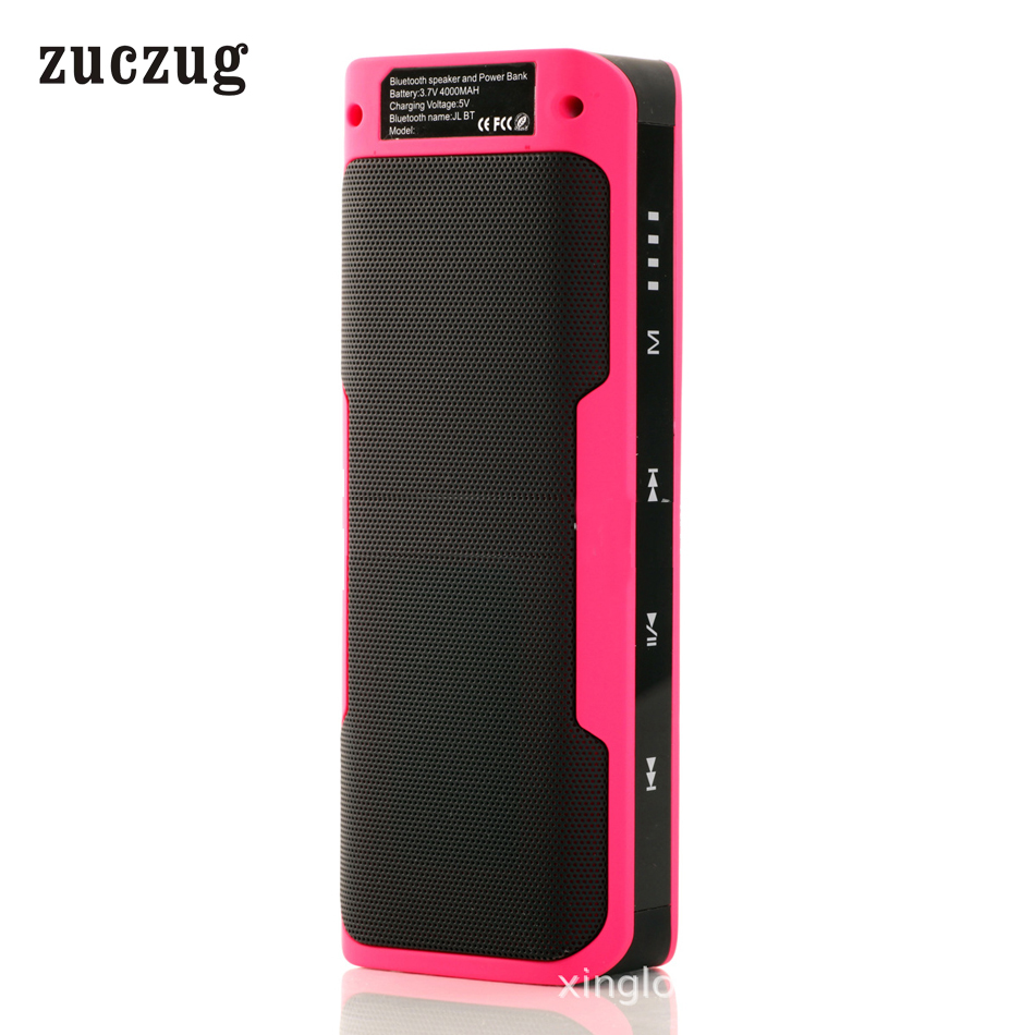 Zucchug portatile esterno impermeabile Bluetooth Speaker Power Bank - Audio e video portatili
